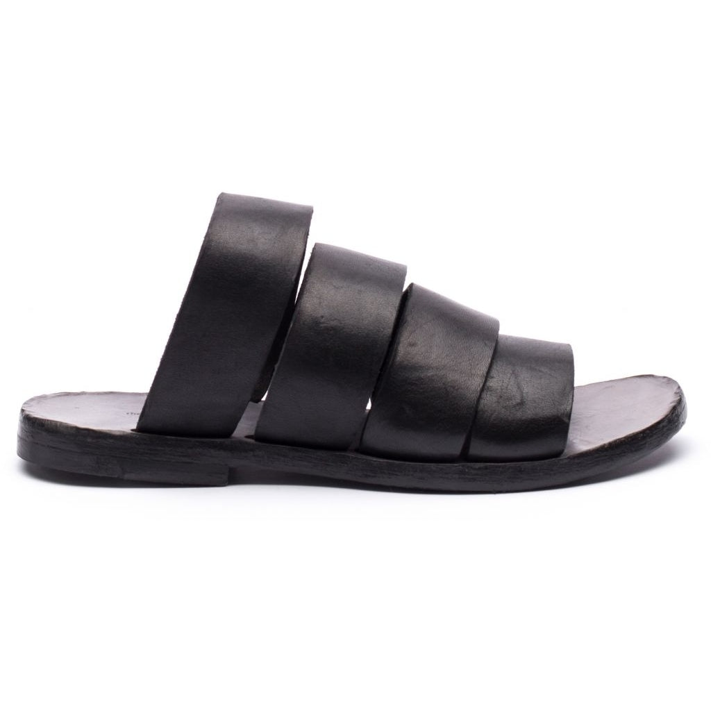 the last conspiracy HAYLEY re waxed Sandal 001 Black