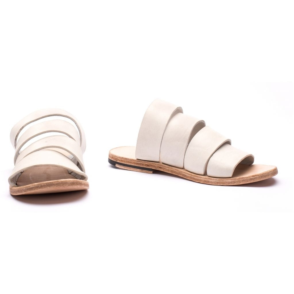the last conspiracy HAYLEY re waxed Sandal 036 White