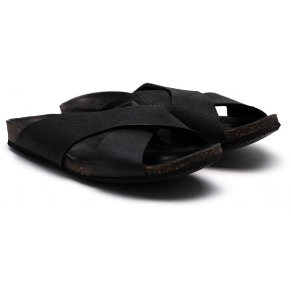 the last conspiracy HULD Sandal 001 Black