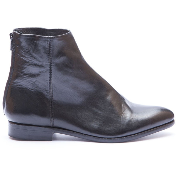 the last conspiracy INGABORG clean Zip Boot 001 Black