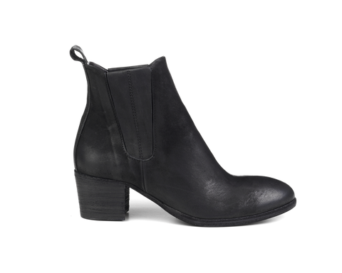 the last conspiracy INGUNN mat Heel Boot 001 Black