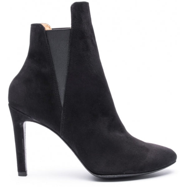 the last conspiracy JUNKO suede Heel Boot 001 Black