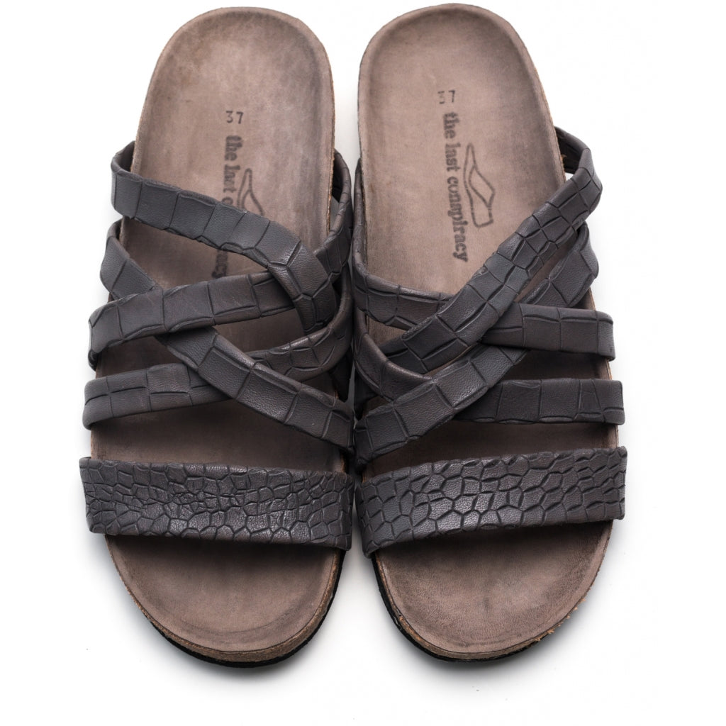 the last conspiracy KATE croco Sandal 002 Grey