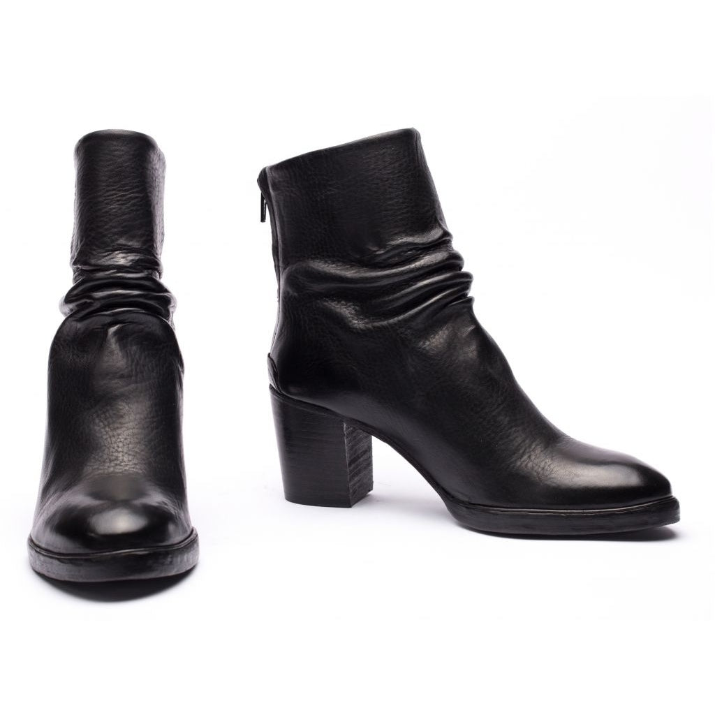 the last conspiracy KENNA re waxed Heel Boot 001 Black