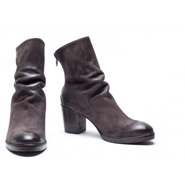 the last conspiracy KENNA waxed suede Heel Boot 074 Asphalt