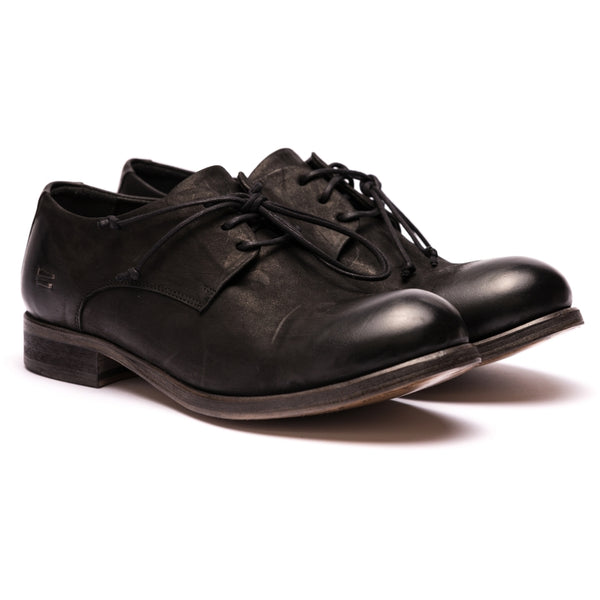 the last conspiracy KNUDSON mat Laced Shoe 001 Black