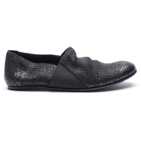 the last conspiracy LAUF cracked Loafer 001 Black