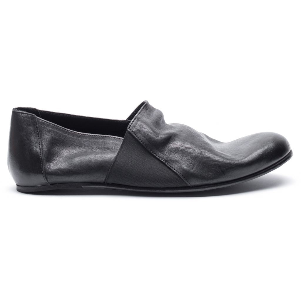 the last conspiracy LAUF re waxed Loafer 001 Black