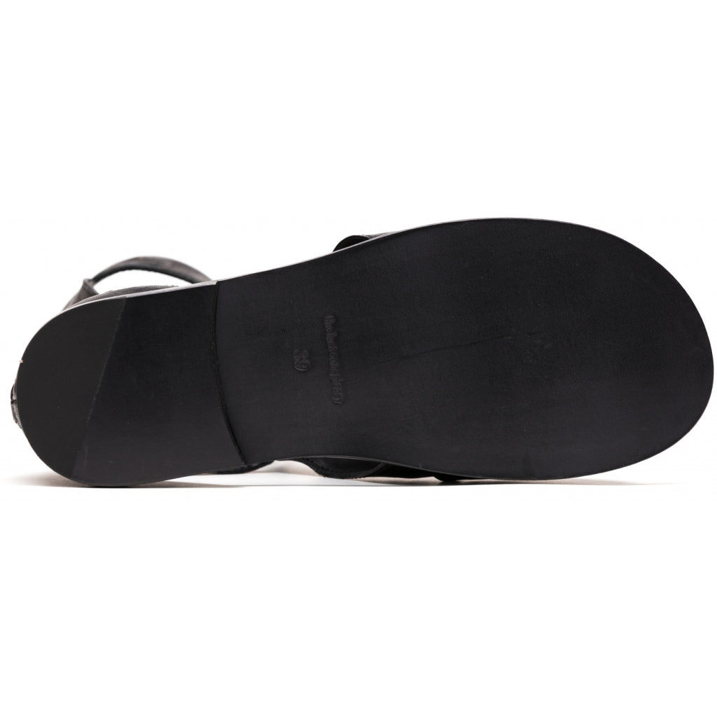 the last conspiracy LESLEE clean Sandal 001 Black