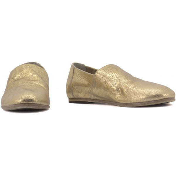 the last conspiracy LINNET foil leather Loafer 035 Gold