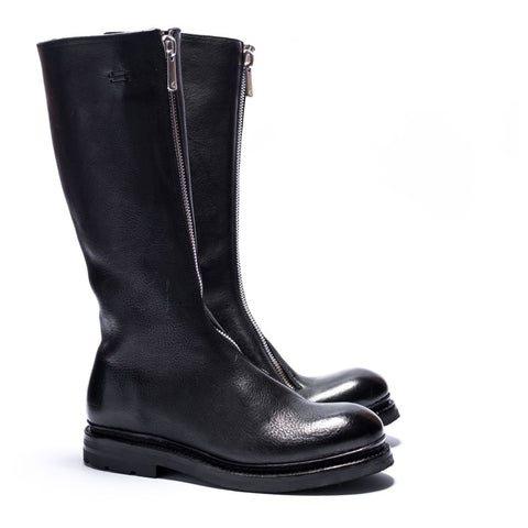 the last conspiracy LUANA re waxed Low Zip Boot 001 Black