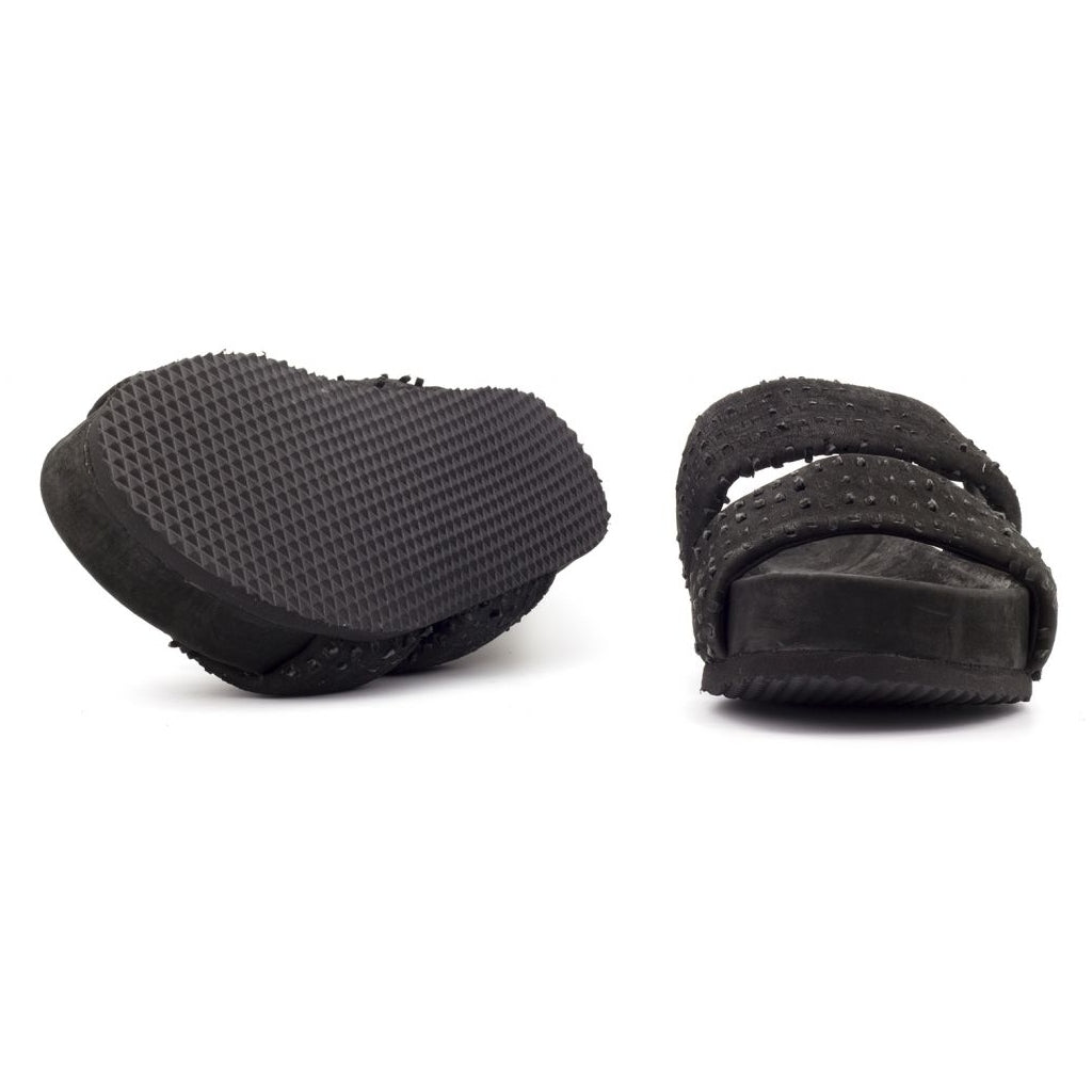 the last conspiracy LYSETTE perforated Sandal 001 Black