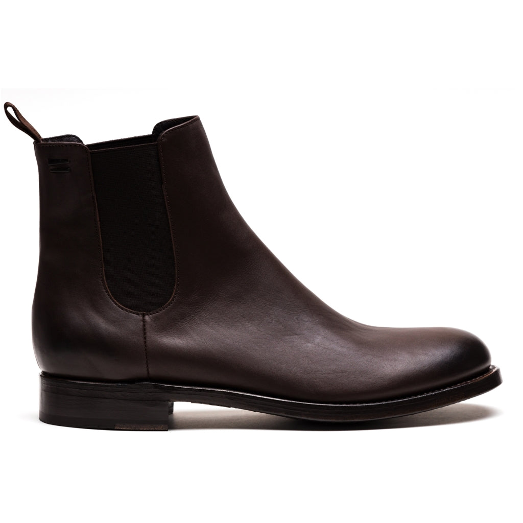 the last conspiracy MARCO Chelsea boot - soft Chelsea Boot 004 Dark brown