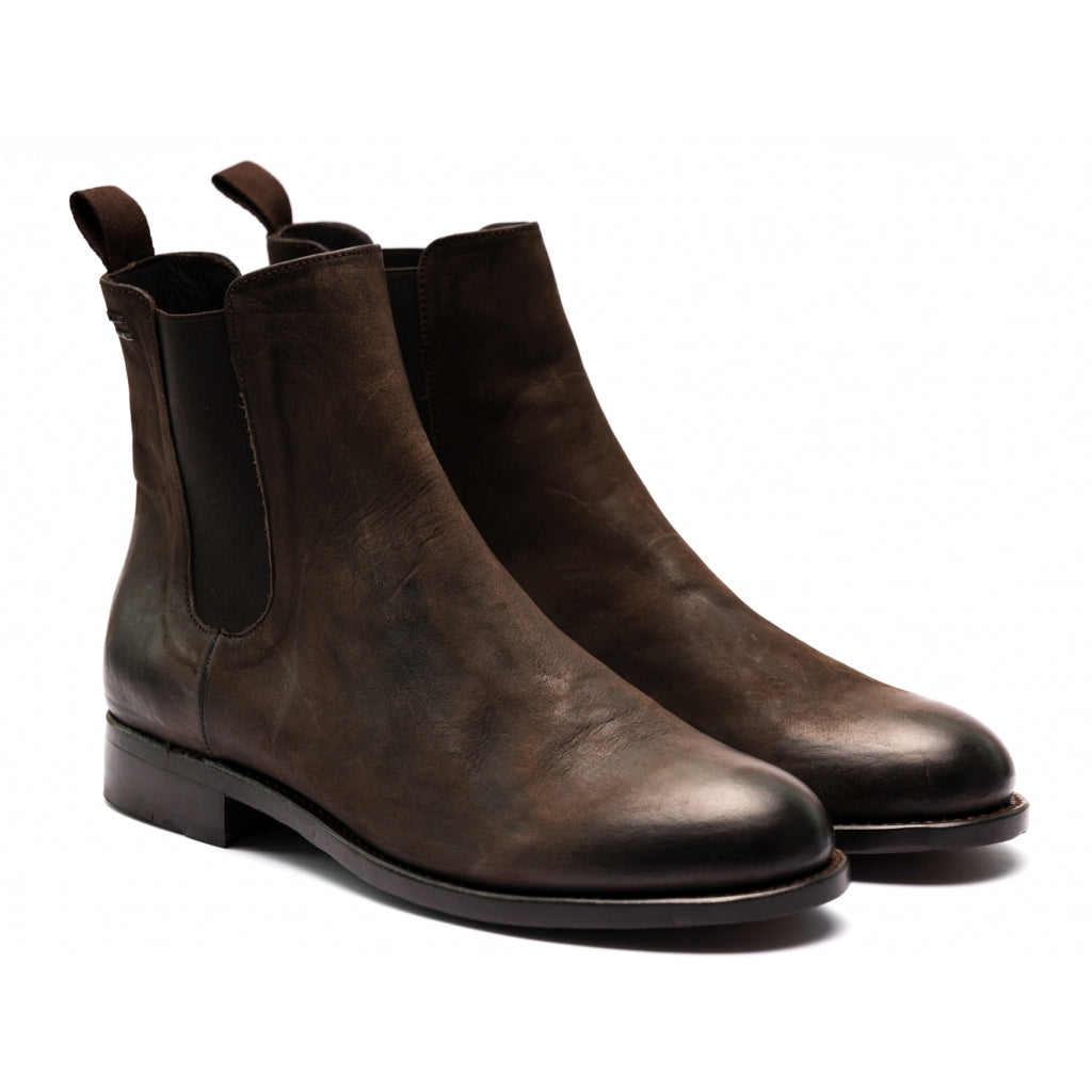 the last conspiracy MARCO Chelsea boot mat Chelsea Boot 004 Dark brown