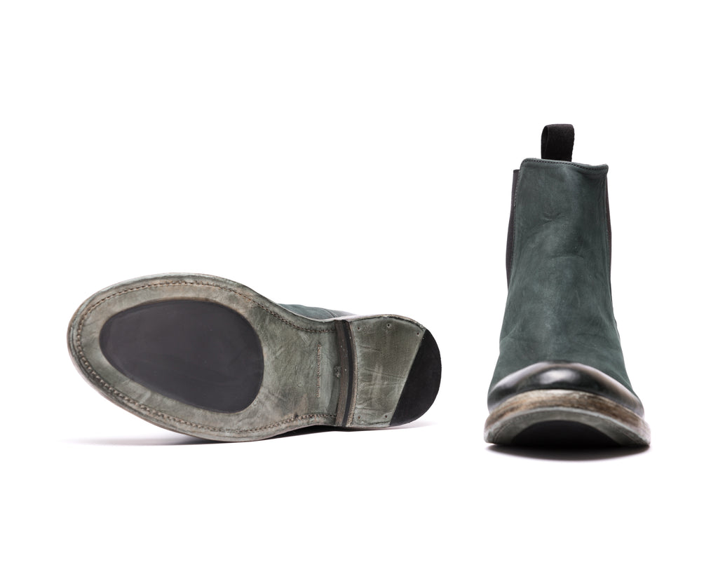 the last conspiracy MARCO mat Chelsea Boot 054 Bottle green