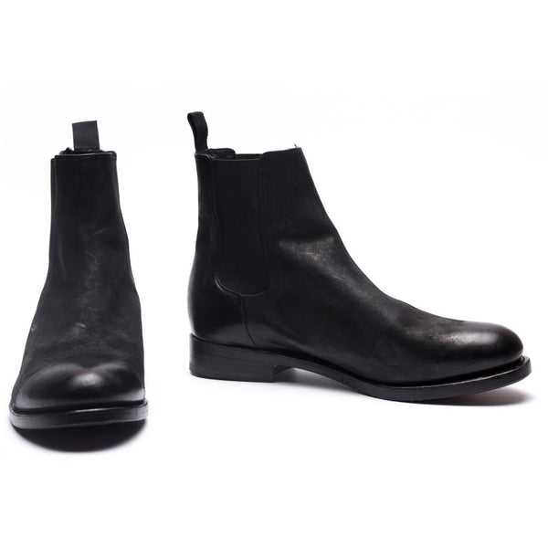 the last conspiracy MARCO mat teddy Chelsea Boot 001 Black