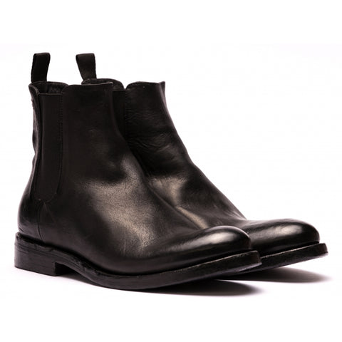 the last conspiracy MARCO steer Chelsea Boot 001 Black
