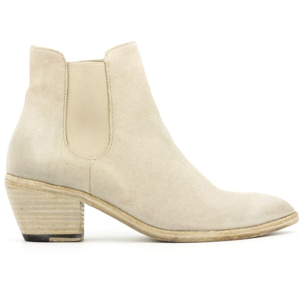 the last conspiracy MARZIA waxed suede Chelsea Boot 002 Grey