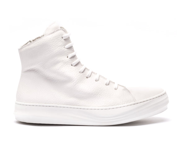 the last conspiracy NANCY High Top Sneaker 036 White