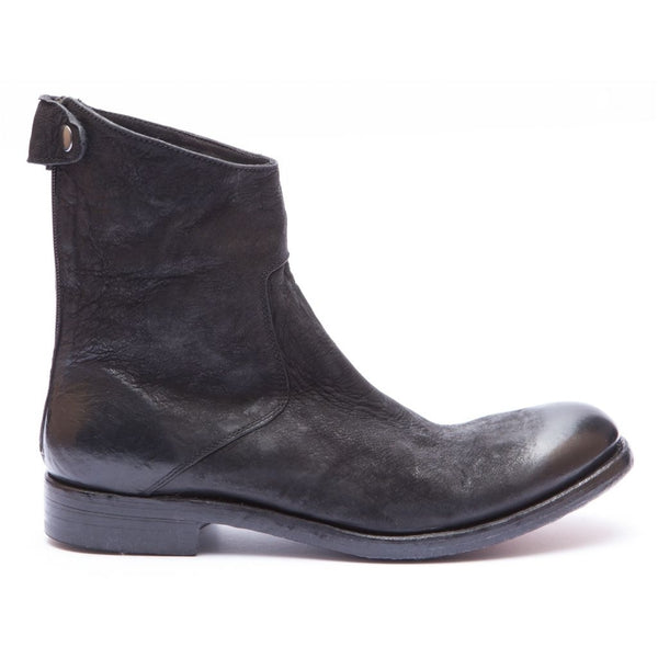 the last conspiracy NICHOLAS mat Zip Boot 001 Black