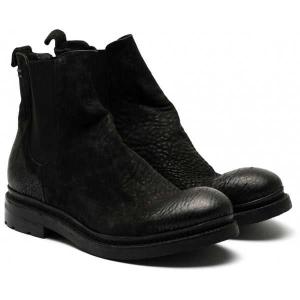 the last conspiracy NJORD reversed Chelsea Boot 001 Black