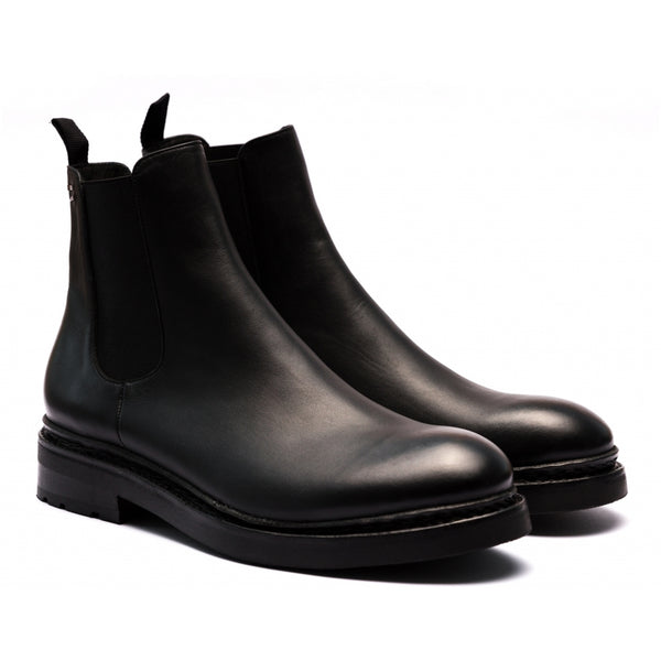 the last conspiracy NJORD soft Chelsea Boot 001 Black