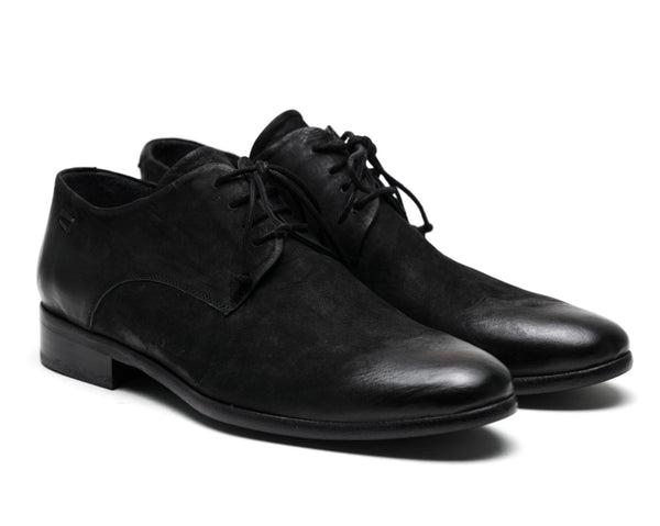 the last conspiracy NOLAN mat polish Laced Shoe 001 Black