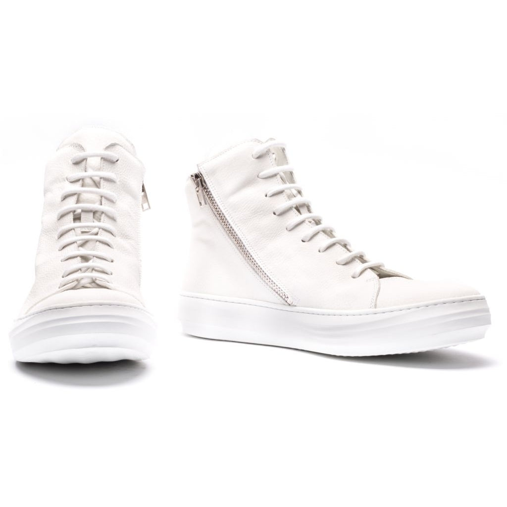 the last conspiracy OLLIE High Top 036 White