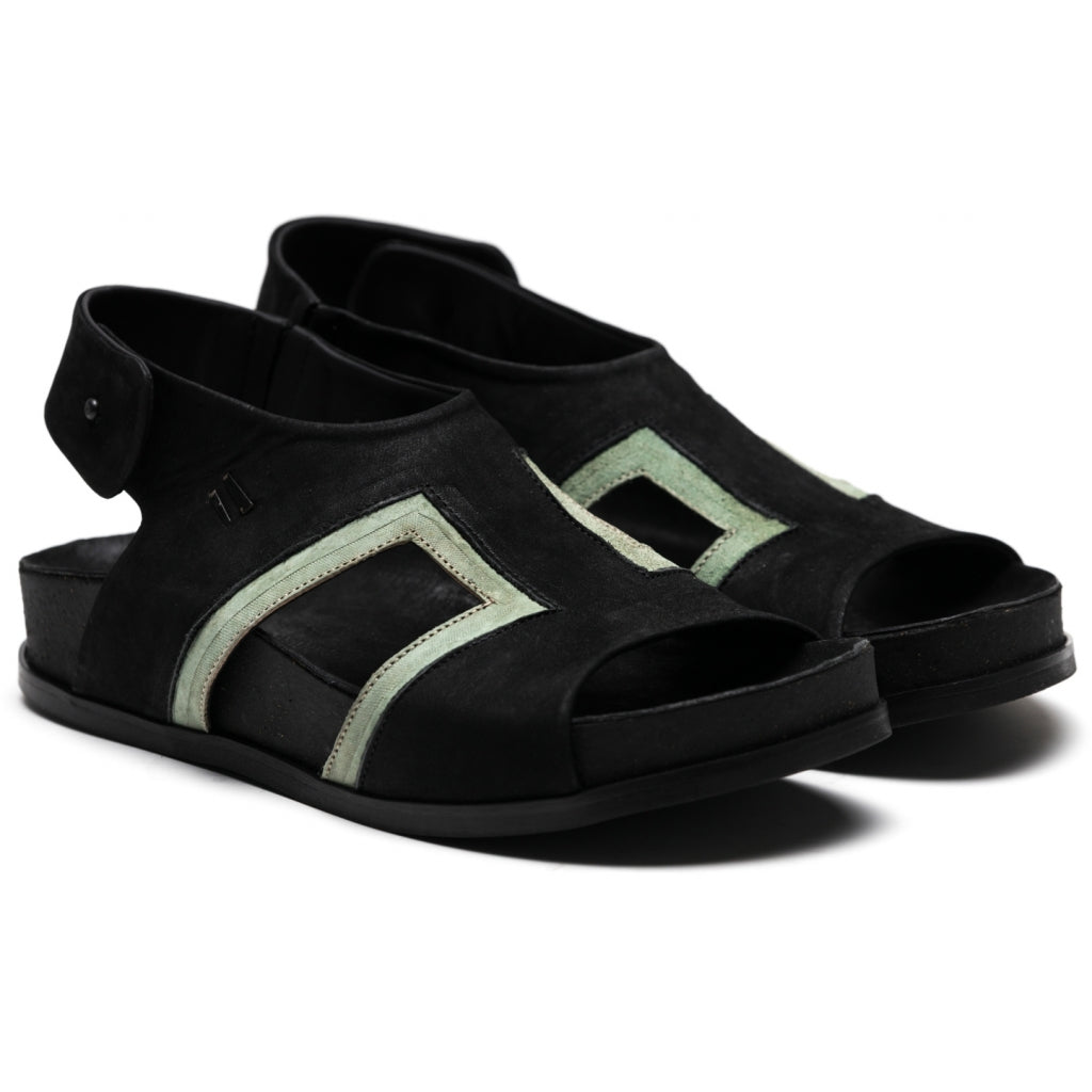 the last conspiracy LETITIA mat Sandal 901 Black/Other