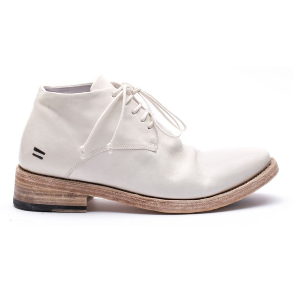 the last conspiracy POL re waxed Laced Shoe 036 White