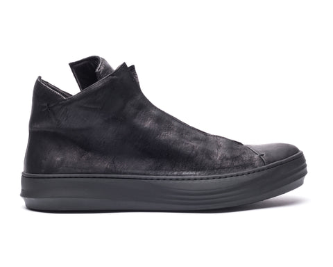 the last conspiracy RENATO mat High Top Sneaker 001 Black