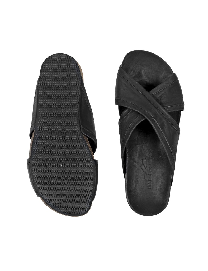 the last conspiracy RUI mat Sandal 001 Black