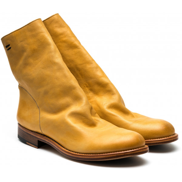 the last conspiracy SERGIO porto Zip Boot 094 Sun Yellow (11401)