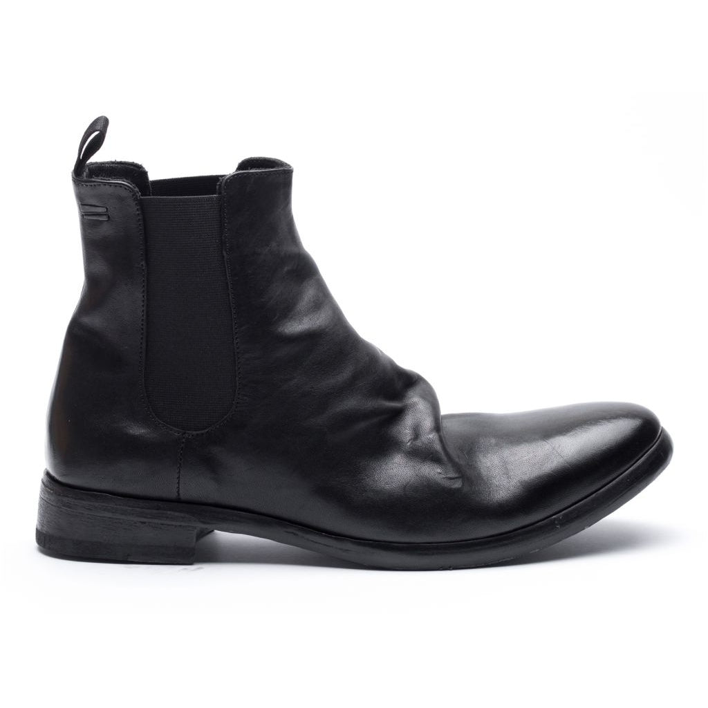 the last conspiracy SHANE re waxed Chelsea Boot 001 Black