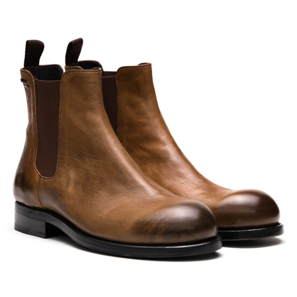 the last conspiracy SPENCER re waxed Chelsea Boot 077 Mustard