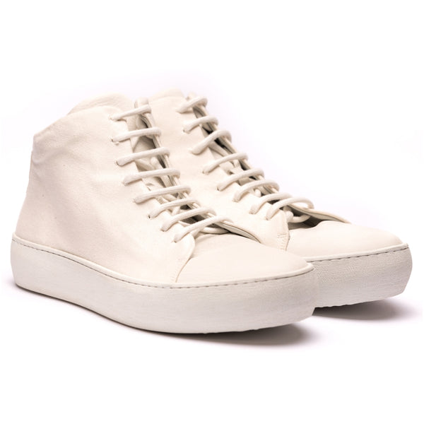 Hannes Roether x the last conspiracy STAMP High Top Sneaker 013 Beige