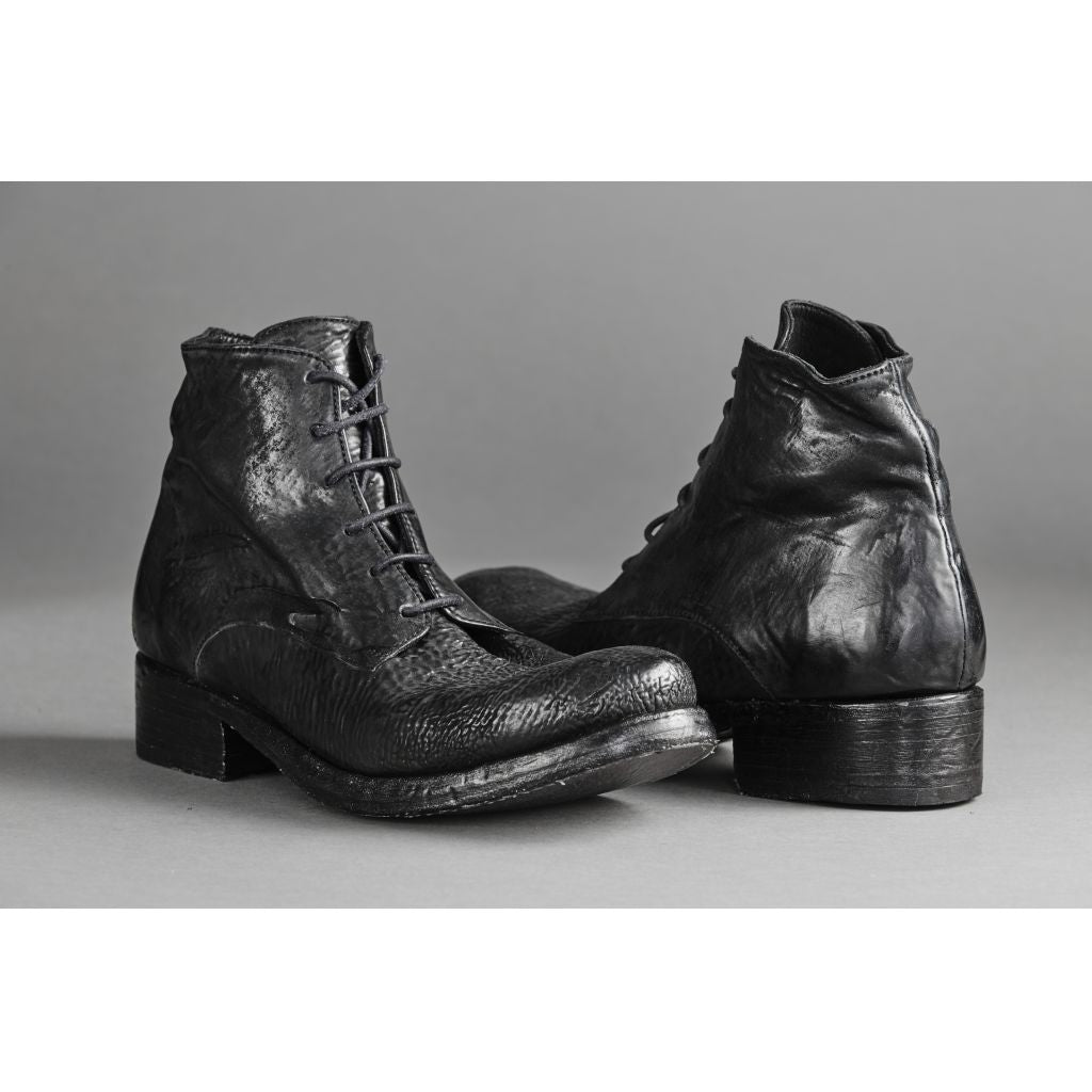 Asgaard SUNE reversed Laced Boot 001 Black