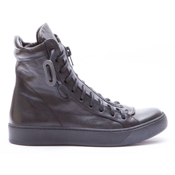 the last conspiracy TETSU clean High Top 001 Black