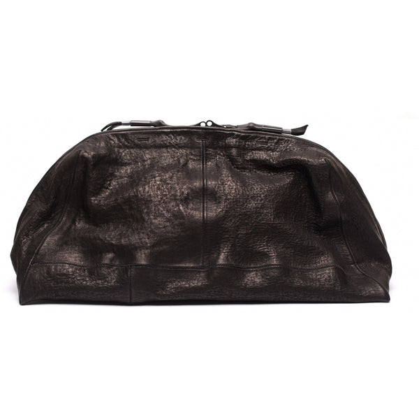 Accessories TOILET BAG LARGE waxed bonded Toiletbag 001 Black