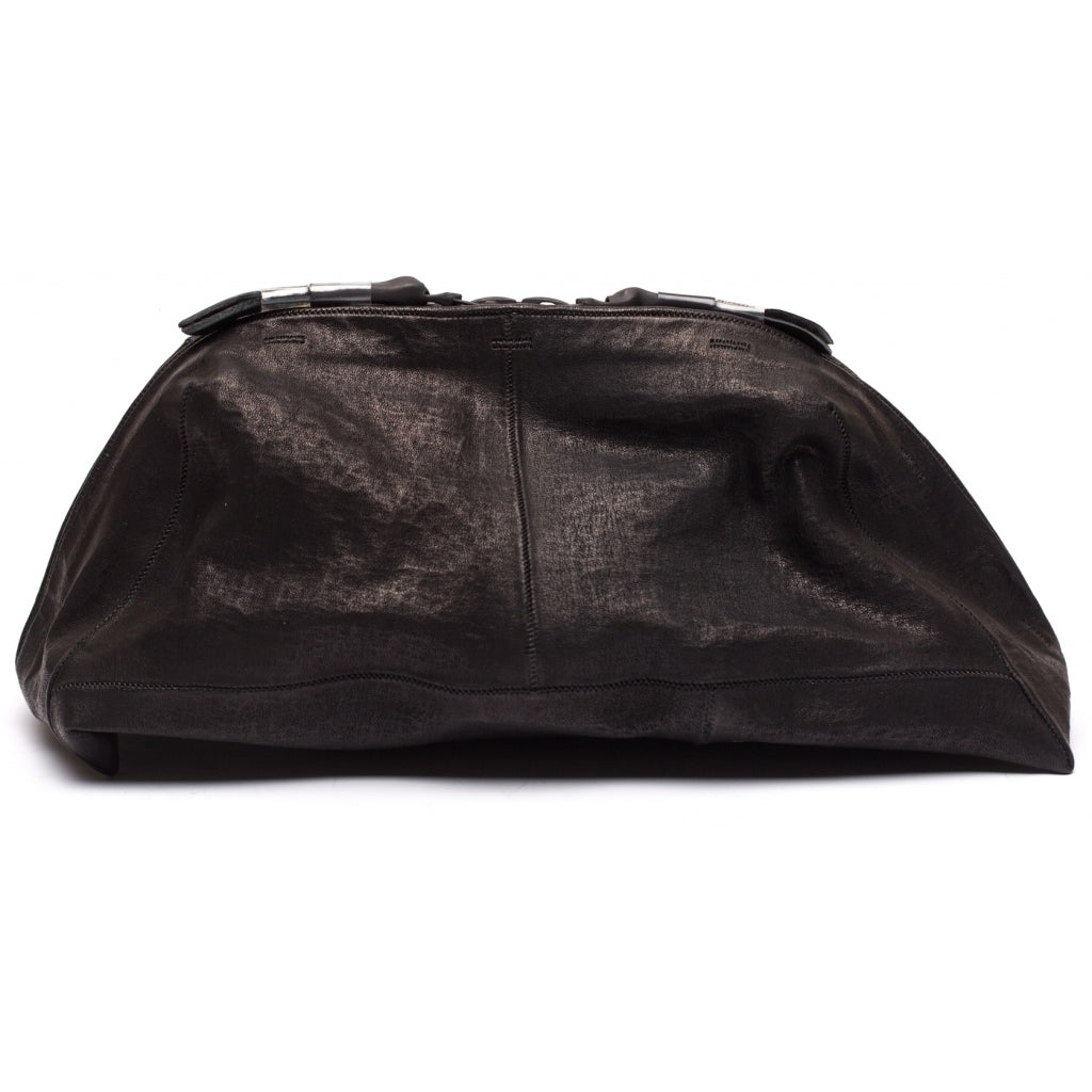 Accessories TOILET BAG SMALL waxed bonded Toiletbag 001 Black