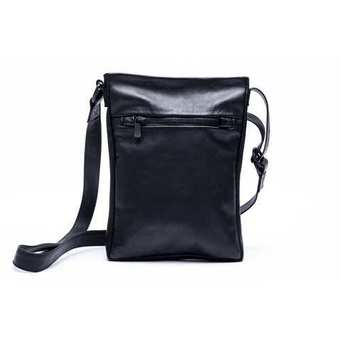 Accessories TRAVELLER soft Shoulder Bag 001 Black