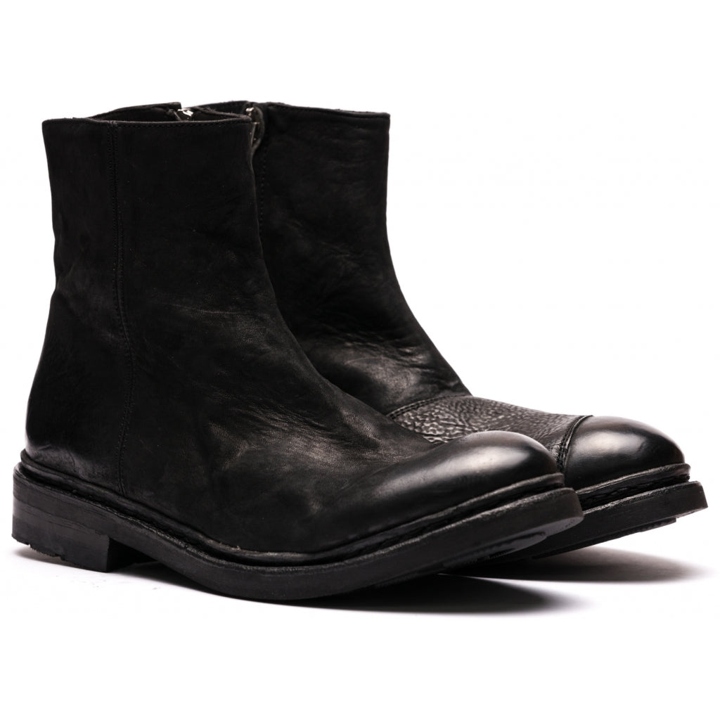 the last conspiracy TYR mat Chelsea Boot 001 Black
