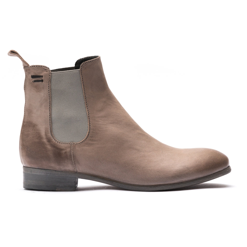 the last conspiracy VALARIA mat Chelsea Boot 086 Light Grey