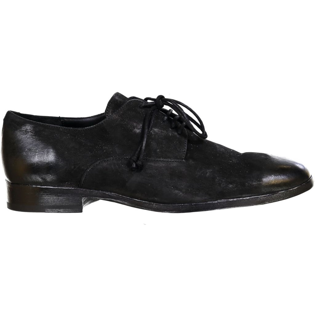 the last conspiracy VITTORIO mat Laced Shoe 001 Black