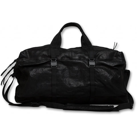 Accessories WEEKENDER waxed bonded Back pack 001 Black