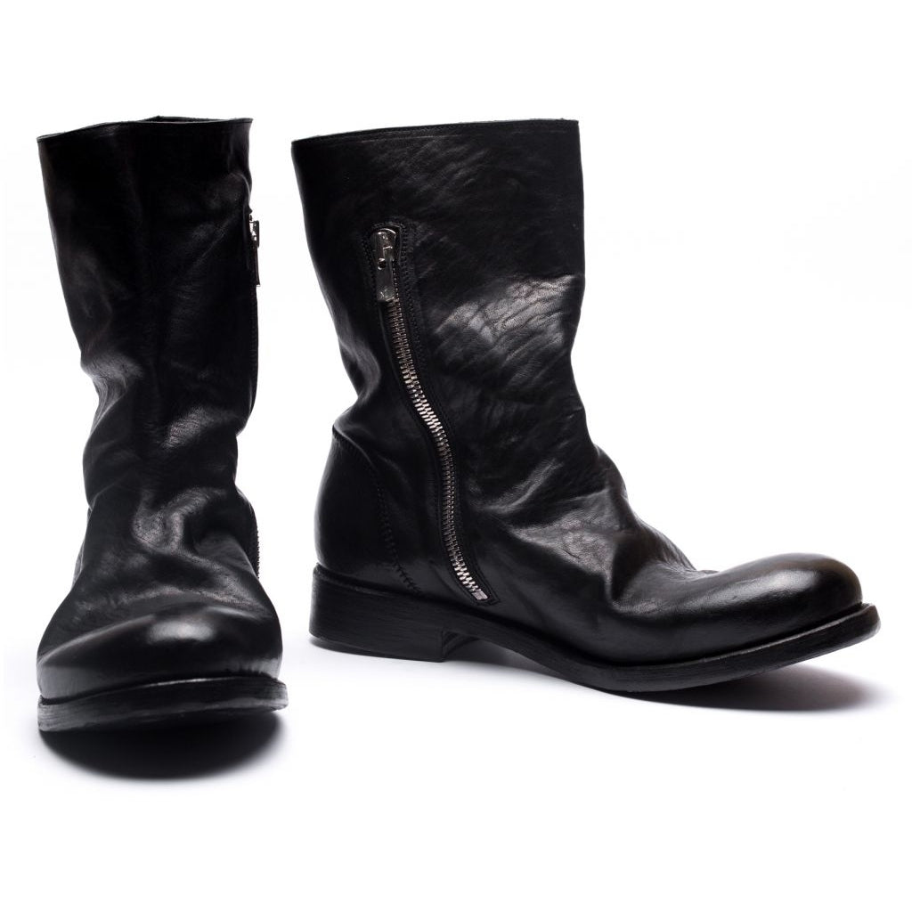 the last conspiracy WESLEY re waxed Boot 001 Black