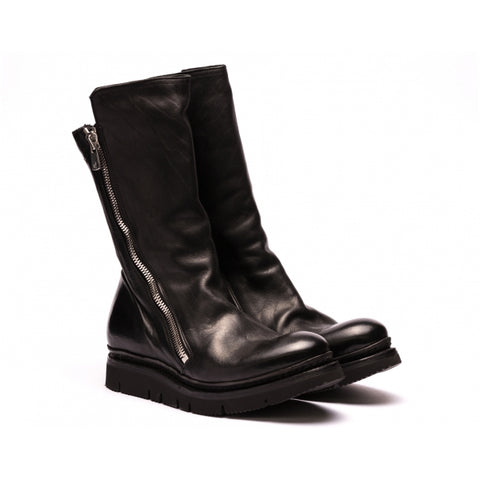 the last conspiracy WOLF re waxed Boot 001 Black