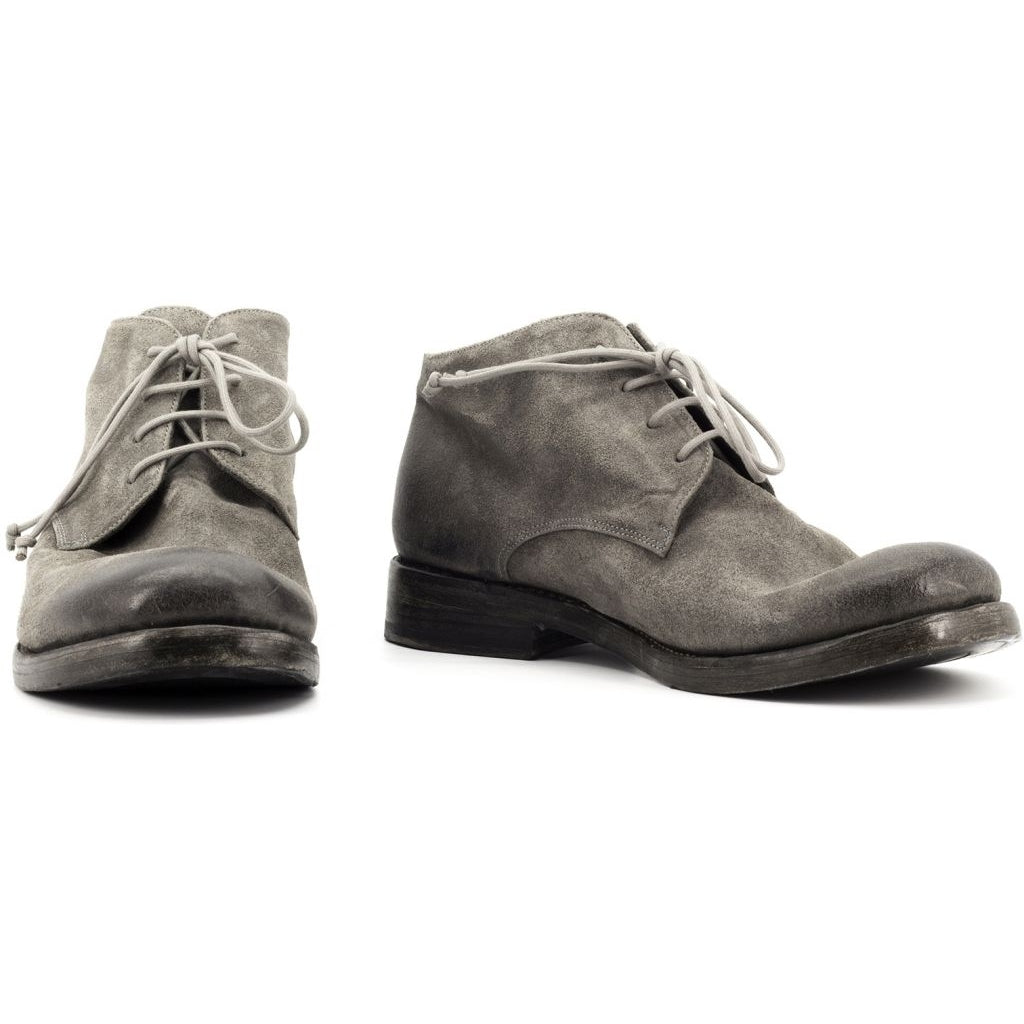 the last conspiracy WOODY waxed suede Laced Boot 052 Dark Grey