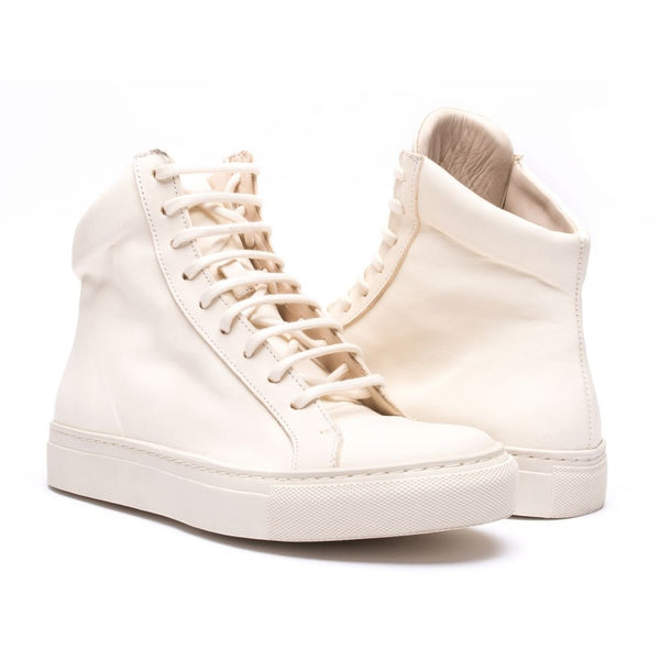the last conspiracy YUKI clean High Top Sneaker 057 Off White