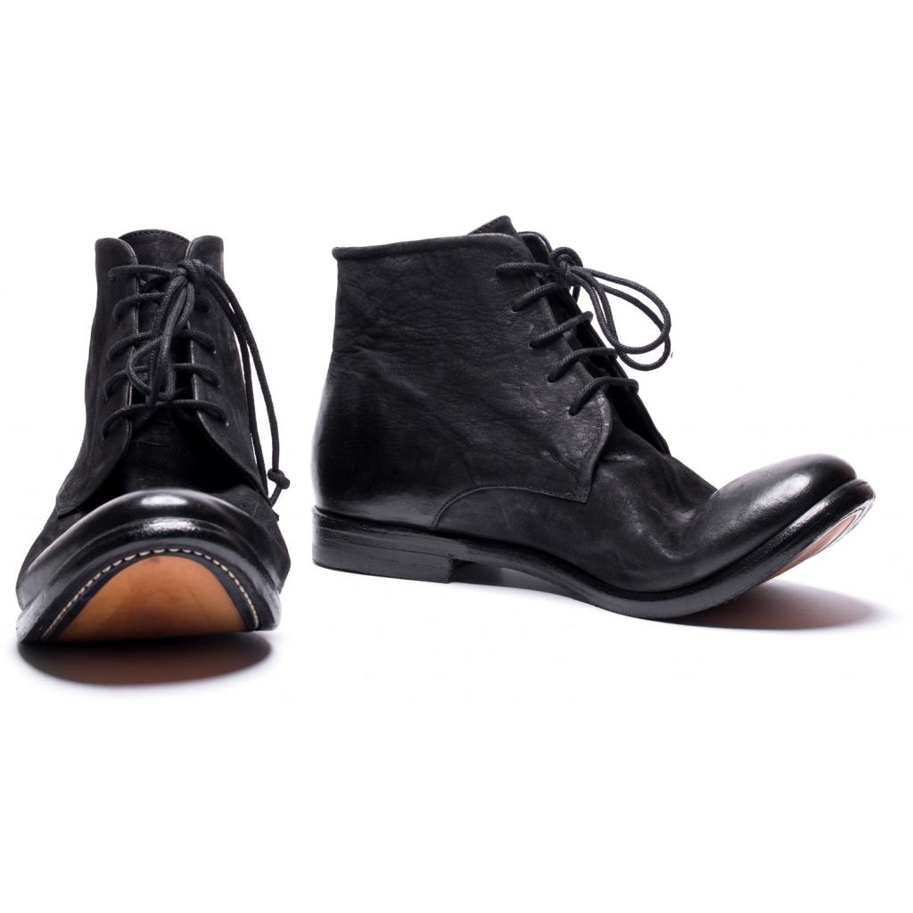 the last conspiracy YUNA mat Laced Boot 001 Black